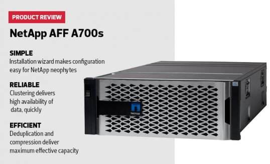 NetApp AFF A700s storage solution review