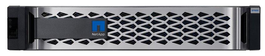 netapp EF600 all-flash NVMe array review